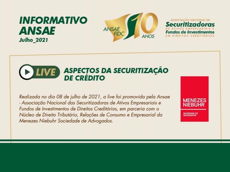 LIVE | Aspectos da Securitização de Crédito